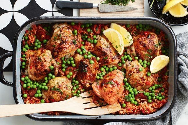 spanish-baked-chicken-with-chorizo-rice-136719-1