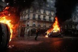 Paris Riots 2018 Abel Prasad